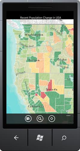 ArcGIS App for Windows Phone 7