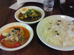 Thai curry Pickeenoo in Komazawa Univ.