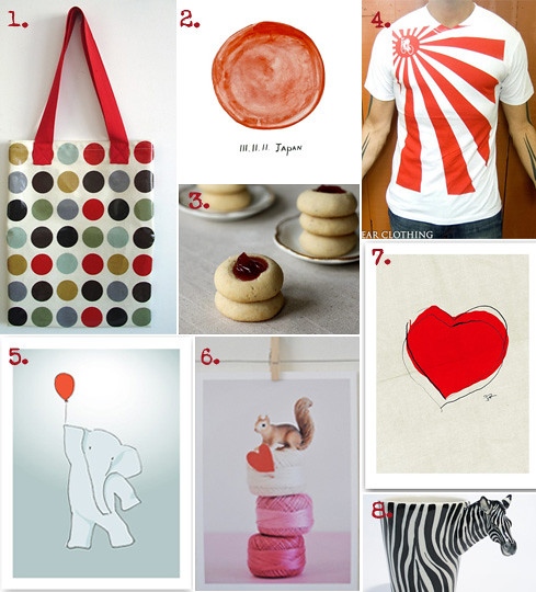 friday etsy favorites for japan relief