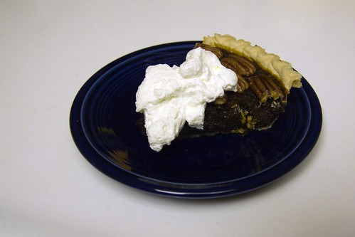 Pie with Unsweetened Whipped Cream