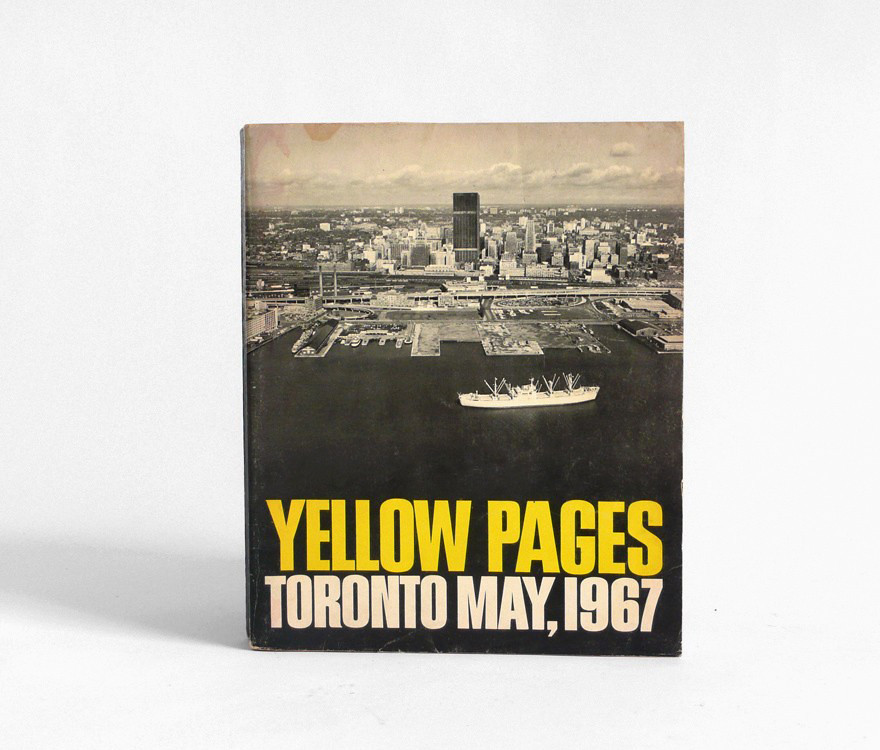 67 toronto yellow book