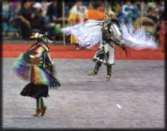 Denver March PowWow 2011 (Clever Poet) Tags: friends drums march dance movement dancing native action traditional feathers tribal denver american fancy tribes americans singers indians drummers jingle cultural powwow competitions 2011 takenfromthebalcony sorryiftheyareabitblurry highhorsephotos