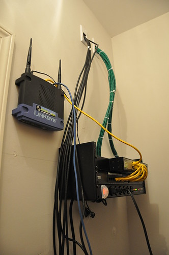 Home Network Wiring Closet Jason S Blog