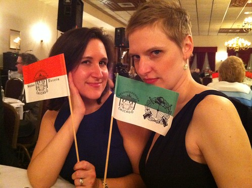 Erica and @Zulkey giving Schützen Verein realness
