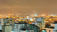 L pros lados de Cubato (De Santis) Tags: brazil rain brasil night nikon long shot chuva sp santos noite vicente paulo so cubato d3000
