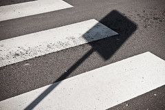 Zebra crossing (Hkan Dahlstrm) Tags: road street shadow sign skne crossing sweden creative commons pedestrian cc zebra f80 skane 2011 glumslv vergngsstlle canoneos5dmarkii sek ef2880mmf284lusm glumslov