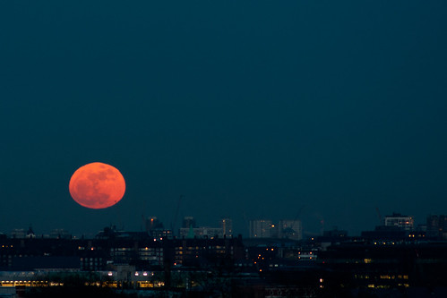 Primrose Hill Sunset and Moon-14