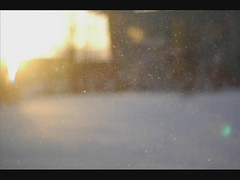 - ( tot ) Tags: sunset snow motion smile falling stop drifting tlpopmusik