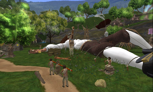 Inworldz: Gulliver's Travels by Yifu