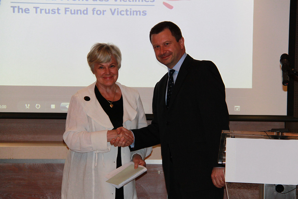 Trust Fund for Victims press conference, 21 March 2011