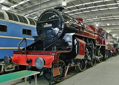 Class 2-6-0 LMS 'Crab' Steam Locomotive No. 13000 At Shildon Locomotion Museum, UK - 16th February 2011 (allan5819 (Allan McKever)) Tags: uk england heritage crimson museum hall display crab rail railway loco steam collection locomotive preserved hughes locomotion nrm horwich countydurham lms 13000 462 shildon uksteam