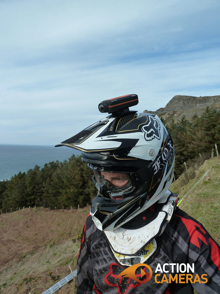 Action Cameras - Scotty Mears, DH Mountain Biker - Helmet Cam