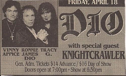 04/18/97 Dio/Knightcrawler @ Medina, MN