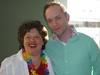 Martin en Godelieve, de superenthousiaste en charmante organisator van de Landelijke Genoegdag :)