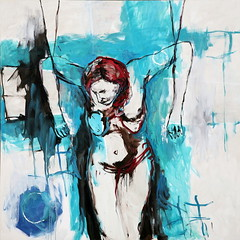 01  óleo sobre lienzo   175x175 cm 1998 (arteneoexpresionista) Tags: rando jorge käthe kollwitz