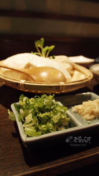 竹籃冷豆腐