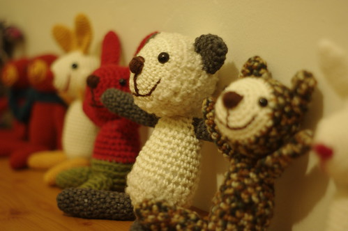 amigurumi line up