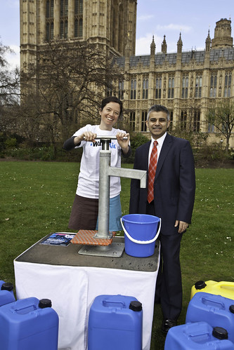 Sadiq Khan MP walks for clean water