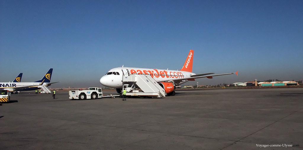 Les compagnies aériennes low-cost ont investi en masse à Marrakech