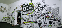 Super Powerploppin' fresh chombalicious mural at FITS Berlin (Stick-A-Thing_____S_____ A_____T) Tags: white black cute bike monster painting happy graffiti design mural montana sweet kawaii marker characters sat diseo desenho acryl edding ilustracion personagem personajes posca ilustracao stickathing graphicdesignrocks adjh