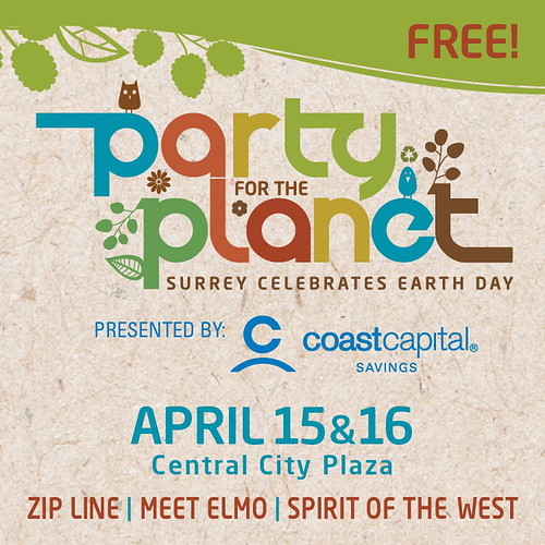 Surrey's Party for the Planet - sponsored by Miss604.com