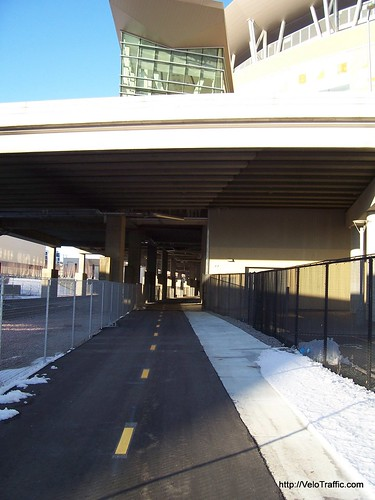 Cedar Lake Trail Under Target Field