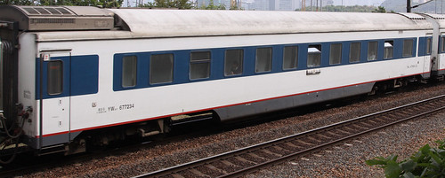 China Railways carriage YW25T 677234