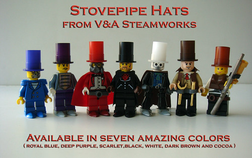 New Stovepipe Hats for sale NOW!