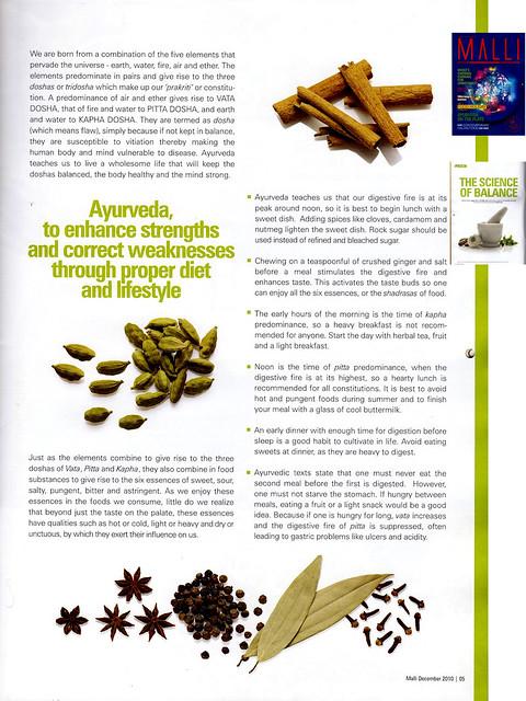 Ayurvedic tips from Sukham Ayu
