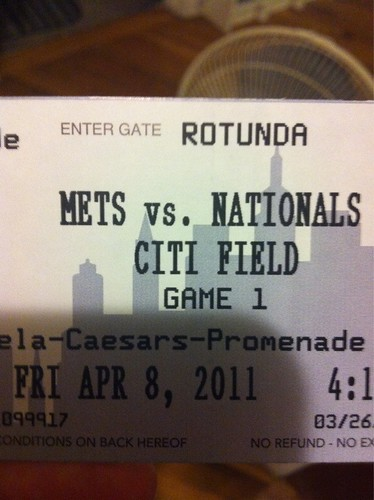 HELLOOOO Game 1. #mets #OpeningNight