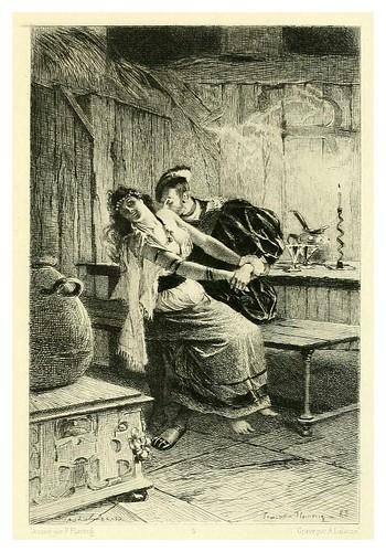 015-El rey se divierte-Illustration des oeuvres complètes de Victor Hugo (Volume 1) 1885 - Flameng, François