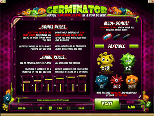 free Germinator slot mini symbol
