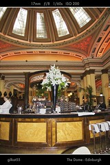 The Dome - Edinburgh (gilkat55) Tags: uk restaurant scotland edinburgh unitedkingdom flash dome 1740mm thedome edimbourg 5dii canon5dii gilkat55
