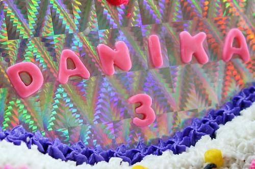 Danika's Butterfly Birthday Cake