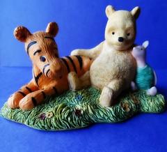 Pal Power (e r j k . a m e r j k a) Tags: friends classic pals disney pooh figure tigger piglet milne ehshepard erjkprunczyk