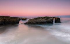 Wild paradise (Eduardo Regueiro) Tags: catedrales lugo sunrise rocks paz tranquilidad atlantico ribadeo relax otoo autumm low tide marea colores suavidad quietud solaz paradise paraiso