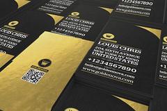 Golden Nova 2 business card (lemongraphic) Tags: business card cards businesscard businesscards goldbusinesscard gold golden foil goldfoil effect texture goldenbusinesscard goldennova nova luxurybusinesscard luxury metal templates logo logos minimal minimalbusinesscard minimalist minimalistics trendy elegant simplebusinesscard vintagebusinesscard