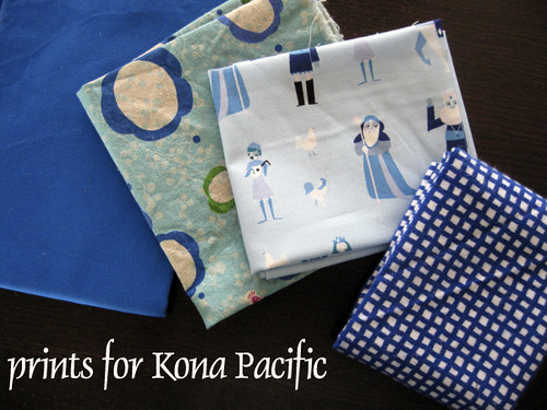 prints for Kona Pacific, a Bottled Rainbow block