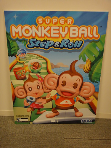 Super Monkey Ball Step & Roll thick wall artwork