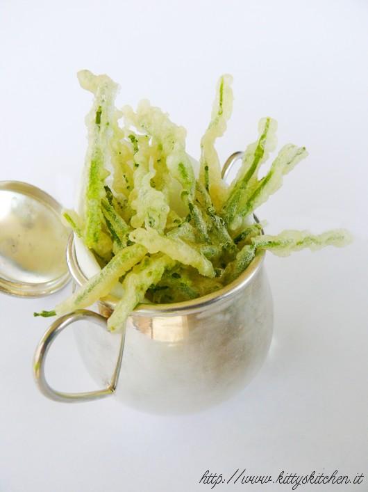 tempura di salicornia