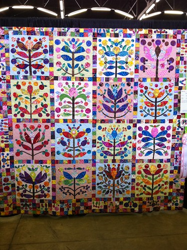 2011 Dallas Quilt Show- appliqued