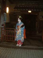 Maiko Kogiku, Gion. (Lau_chan) Tags: kyoto maiko geiko geisha hanamachi gionkobu kogiku