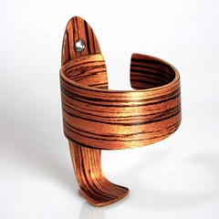 Sykes zebrawood bottle cage, $65