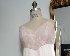 Vintage 1960s VANITY FAIR Dress Slip (6) (helloagainvintage) Tags: pink vintage 60s dress lace slip 1960s vanityfair