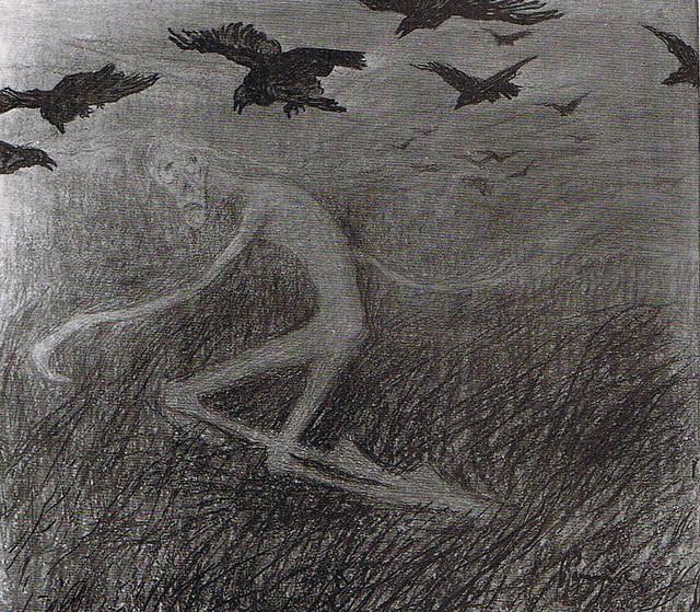 Jaroslav Panuska - Mort chassé par des corbeaux