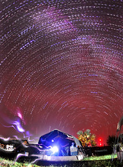 The Milky Way, Stars and Lightning. (Tomasito.!) Tags: world africa wood longexposure blue light red sky plants house home nature beautiful grass clouds garden dark stars fun 1 photo nikon niceshot shadows darkness earth vibrant unique space philippines great picture surreal grand manipulation tent galaxy electricity lightning universe powerful jt touristspot startrails milkyway noriega msf tomasito d90 mostbeautiful doctorswithoutborders nikond90 mygearandme mygearandmepremium mygearandmebronze mygearandmesilver