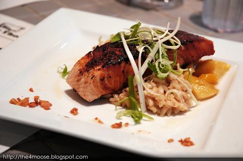 Food for Thought - Chai Spice Brûlée Salmon