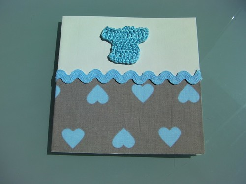 """It's a boy!"" card"
