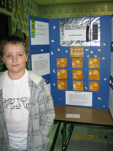 3/17/11: 5th grade Science Fair