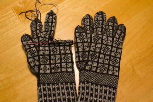 2 Left Gloves :(
